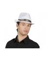 Witte kojak hoed