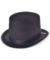 Hoge hoed zwart voor volwassenen